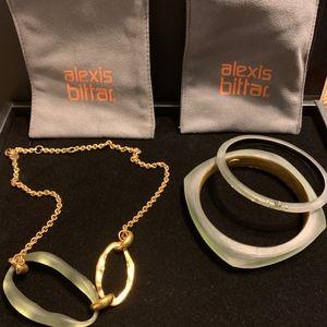 AUTHENTIC Alexis Bittar 3 Piece Set